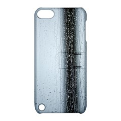 Rain Raindrop Drop Of Water Drip Apple Ipod Touch 5 Hardshell Case With Stand