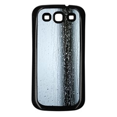 Rain Raindrop Drop Of Water Drip Samsung Galaxy S3 Back Case (black)