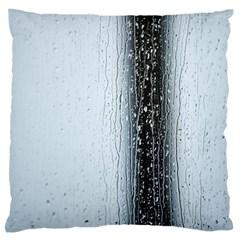 Rain Raindrop Drop Of Water Drip Large Flano Cushion Case (one Side)