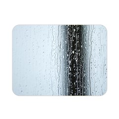 Rain Raindrop Drop Of Water Drip Double Sided Flano Blanket (mini)