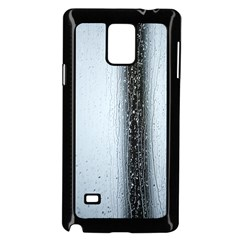Rain Raindrop Drop Of Water Drip Samsung Galaxy Note 4 Case (black)