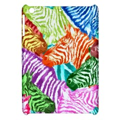 Zebra Colorful Abstract Collage Apple Ipad Mini Hardshell Case