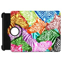 Zebra Colorful Abstract Collage Kindle Fire Hd 7