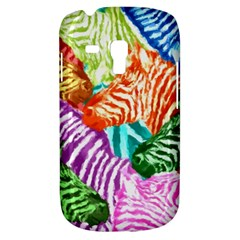 Zebra Colorful Abstract Collage Galaxy S3 Mini