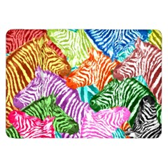 Zebra Colorful Abstract Collage Samsung Galaxy Tab 8 9  P7300 Flip Case