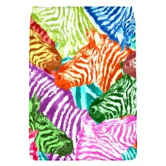 Zebra Colorful Abstract Collage Flap Covers (s)