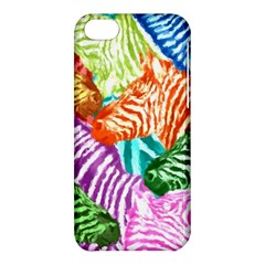 Zebra Colorful Abstract Collage Apple Iphone 5c Hardshell Case