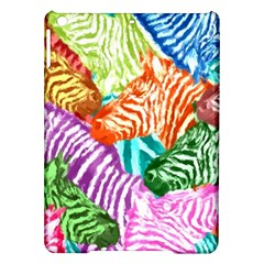 Zebra Colorful Abstract Collage Ipad Air Hardshell Cases