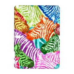 Zebra Colorful Abstract Collage Galaxy Note 1