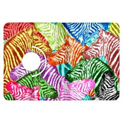 Zebra Colorful Abstract Collage Kindle Fire Hdx Flip 360 Case