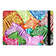 Zebra Colorful Abstract Collage Samsung Galaxy Tab Pro 10 1  Flip Case