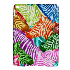 Zebra Colorful Abstract Collage Ipad Air 2 Hardshell Cases