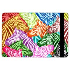 Zebra Colorful Abstract Collage Ipad Air 2 Flip