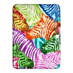 Zebra Colorful Abstract Collage Samsung Galaxy Tab 4 (10 1 ) Hardshell Case