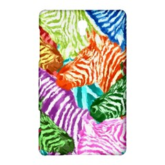 Zebra Colorful Abstract Collage Samsung Galaxy Tab S (8.4 ) Hardshell Case