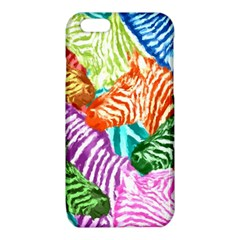 Zebra Colorful Abstract Collage iPhone 6/6S TPU Case