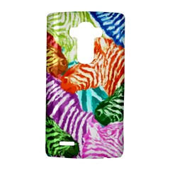 Zebra Colorful Abstract Collage LG G4 Hardshell Case