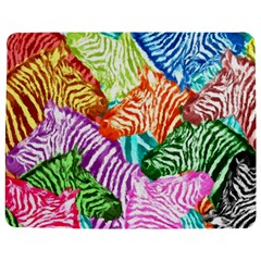 Zebra Colorful Abstract Collage Jigsaw Puzzle Photo Stand (rectangular)