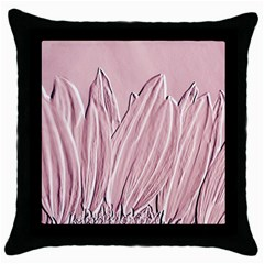 Shabby Chic Vintage Background Throw Pillow Case (black)