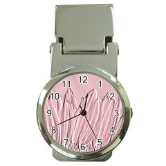 Shabby Chic Vintage Background Money Clip Watches