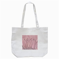 Shabby Chic Vintage Background Tote Bag (white)