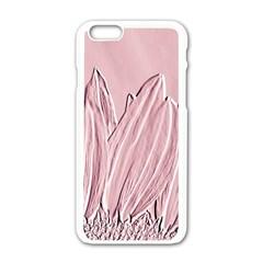 Shabby Chic Vintage Background Apple Iphone 6/6s White Enamel Case