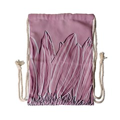 Shabby Chic Vintage Background Drawstring Bag (small)