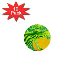 Zitro Abstract Sour Texture Food 1  Mini Buttons (10 pack)