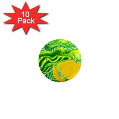 Zitro Abstract Sour Texture Food 1  Mini Magnet (10 Pack)