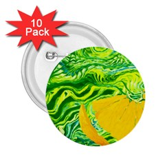Zitro Abstract Sour Texture Food 2 25  Buttons (10 Pack)