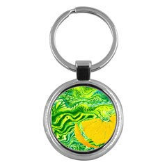 Zitro Abstract Sour Texture Food Key Chains (round)