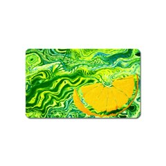Zitro Abstract Sour Texture Food Magnet (Name Card)