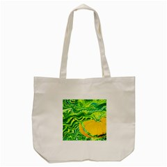 Zitro Abstract Sour Texture Food Tote Bag (cream)