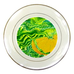 Zitro Abstract Sour Texture Food Porcelain Plates