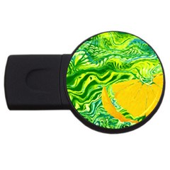 Zitro Abstract Sour Texture Food Usb Flash Drive Round (4 Gb)
