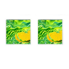 Zitro Abstract Sour Texture Food Cufflinks (square)