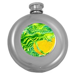 Zitro Abstract Sour Texture Food Round Hip Flask (5 Oz)