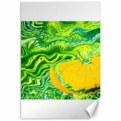 Zitro Abstract Sour Texture Food Canvas 12  X 18