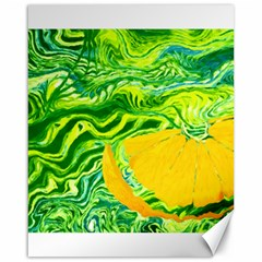 Zitro Abstract Sour Texture Food Canvas 16  X 20