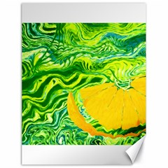 Zitro Abstract Sour Texture Food Canvas 18  X 24