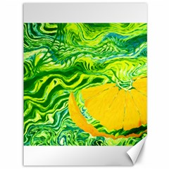 Zitro Abstract Sour Texture Food Canvas 36  X 48