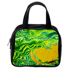 Zitro Abstract Sour Texture Food Classic Handbags (one Side)