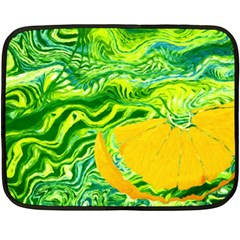 Zitro Abstract Sour Texture Food Fleece Blanket (mini)