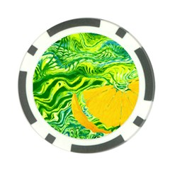 Zitro Abstract Sour Texture Food Poker Chip Card Guards (10 Pack)