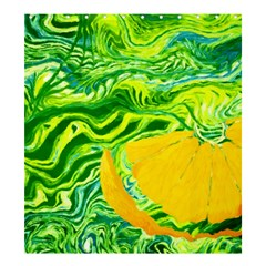 Zitro Abstract Sour Texture Food Shower Curtain 66  X 72  (large)