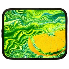 Zitro Abstract Sour Texture Food Netbook Case (xxl)
