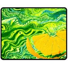 Zitro Abstract Sour Texture Food Fleece Blanket (Medium)