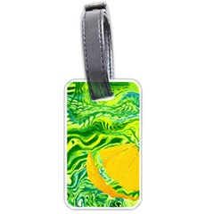 Zitro Abstract Sour Texture Food Luggage Tags (Two Sides)