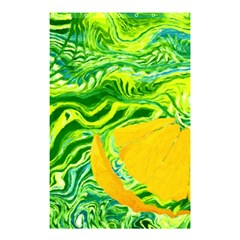 Zitro Abstract Sour Texture Food Shower Curtain 48  X 72  (small)