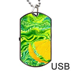 Zitro Abstract Sour Texture Food Dog Tag Usb Flash (two Sides)